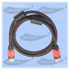 1M High definition HDMI cable 1080p double color moulding type