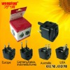 2011 HOT Mini Global Travel Adaptor plug