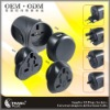 2011 Top Sale USB Travel Adapter for Worldwide Use