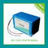 2012 New Arrival 48V10A Electric Motorcycle Battery Pack with Charger and PCM Protection