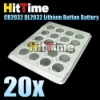20set(20Pcs/set) CR2032 DL2032 CR-2032 Lithium Cell Coin Button Battery 3V Free AIR Mail ONLY