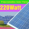 220W Poly solar panel for home use with TUV CE