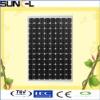 245W mono cystalline solar panel, solar module, TUV,CE,IEC,CEC certification