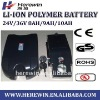 24V 9AH LiFePO4  lithium battery  pack