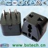 250V 10A 3 round pin IEC Italy, Uruguay power adaptor