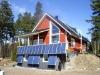 250W transparent solar panel