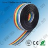 26AWG rainbow flat ribbon cable for company