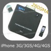 2800mA External Battery for iPhone3G/3GS/4G/4GS (ASC-035)