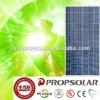 280W poly pv solar panel for home use