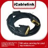 2M DVI-D male to DVI-D male cable for HDTV,PC