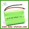 3.6V 600mAh Ni-MH AAA Battery Pack