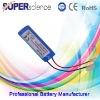 3.7V 1400mAh li-ion pack battery