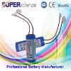 3.7V 1400mAh lithium battery packs