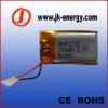 3.7V 190mAh rechargeable polymer li-ion battery 401733