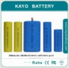 3.7V 2000mah Cylindrical rechargeable 18650 li ion battery