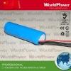 3.7V 2200mah battery for led flashlight