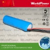 3.7V 2200mah rechargeable battery pack