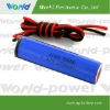 3.7V 2600mAh Single cell Rechargeable Lithium Battery
