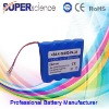 3.7V 8000mAh 18650 cell battery pack