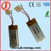 3.7v 100mAh rechargeable polymer lithium ion battery 401230