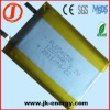 3.7v 1200mAh rechargeable lithium battery 654258