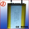 3.7v 1200mAh rechargeable polymer battery 654258