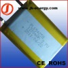 3.7v 1200mAh rechargeable polymer lithium battery 654258