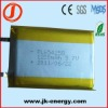 3.7v 1200mAh rechargeable polymer lithium ion battery 654258