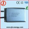 3.7v 1400mAh lithium rechargeable battery 123450