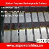 3.7v 1500mah 583573 thin li polymer digital rechargeable batteries