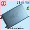 3.7v 1750mAh lithium rechargeable battery 405080