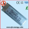 3.7v 180mAh lithium ion polymer rechargeable battery 501235