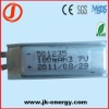 3.7v 180mAh lithium polymer rechargeable battery 501235