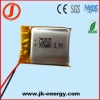 3.7v 300mAh rechargeable polymer lithium battery 752025