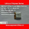 3.7v 380mah 542730 standard lipo digital rechargeable battery packs for mp3 / mp4