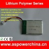 3.7v 650mah 393450 best price li-polymer digital battery packs