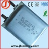 3.7v 900mAh lithium rechargeable battery 653442