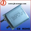 3.7v 900mAh rechargeable lithium polymer battery 653442