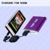 320mAh portable travel charger for iphone,mobile phone MP3,MP4 3G,4G..etc.