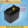 3300mAh 24V Electric Hand Drill Battery for  BH2433 Japan Cells
