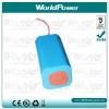 35W HID 22.2V li ion battery pack 5200mah