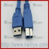 3M 5Pin USB 3.0 Male-A To Female-B