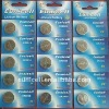 3V CR2032 Button Battery, Coin Cell Battery, 5 pcs on a blister card packing
