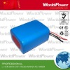 3s3p UL CE Rohs 18650 rechargeable battery pack with 11.1v 7800mah