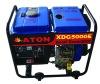 4.5~5kw air-cooled ATON diesel welding generator