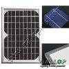 4-6W monocrystalline PV solar module solar panel