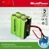 4000mah/4400mah/5200mah 10.8V lithium ion battery pack for Led