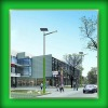 48W 8M Pole LED Solar Street Lamps