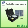 50W high power portable solar folding components