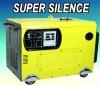 5KW 4-stokr engine power portable silent diesel generator
